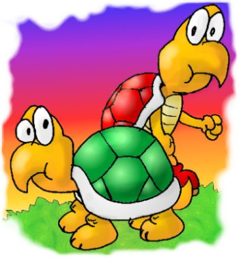 Koopa Cartoon Family
