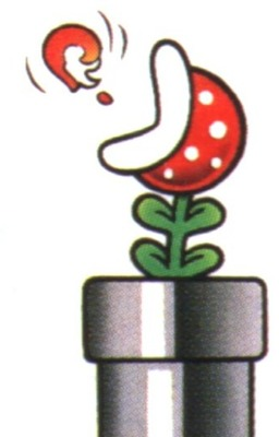 Biographie de plante piranha for Plante mario