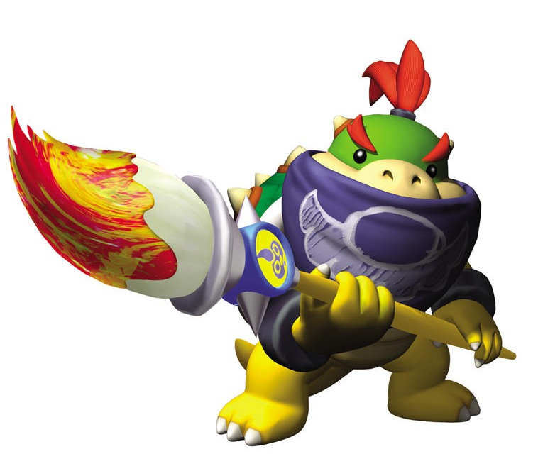 Bowser Jr. Render