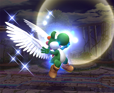 Smash Ball Gives you Wings!